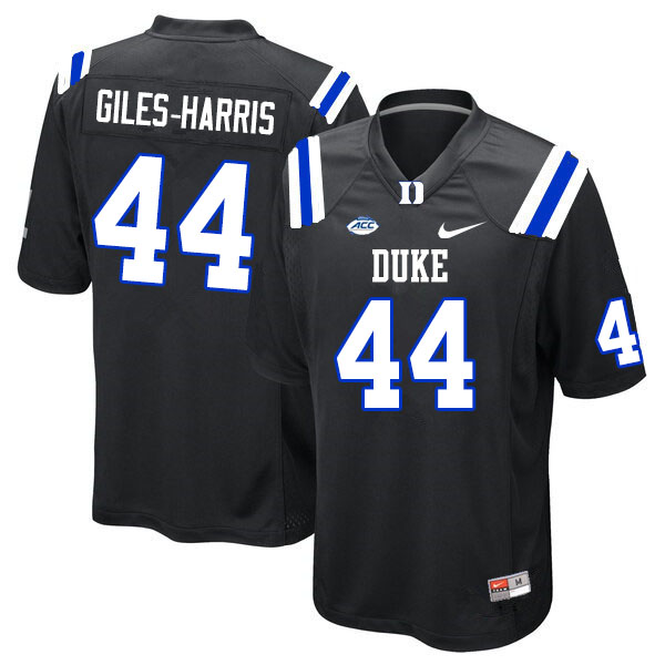 Men #44 Joe Giles-Harris Duke Blue Devils College Football Jerseys Sale-Black