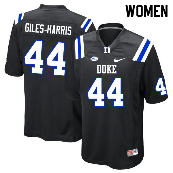 Women #44 Joe Giles-Harris Duke Blue Devils College Football Jerseys Sale-Black